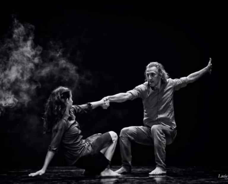 Fernando Hurtado bailando con Inma Montalvo